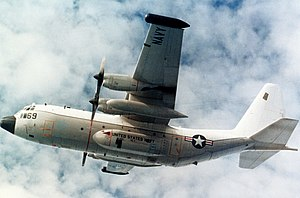 Lockheed EC-130 - A U.S. Navy TACAMO EC-130Q of VQ-4, in 1984.