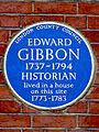 EDWARD GIBBON 1737-1794 HISTORIAN lived in a house on this site 1773-1783.jpg