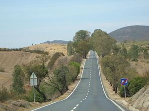 Roads in Portugal - N122 (Beja-Vila Real de Santo António) was a National Road of 1st Class.
