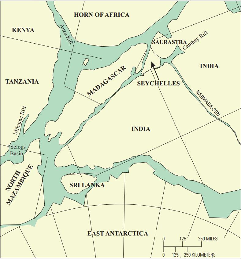 Early Jurassic breakup of Gondwana