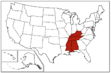 East South Central states Wikipedia