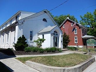 East Greenville, Pennsylvania - Image: East Greenville Borough Hall, Mont Co PA 01