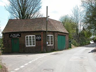 Forge - A smithy in East Meon, Hampshire, England