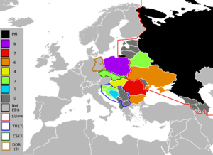 United Nations Regional Groups - Image: Eastern European Group 2010