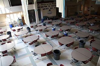 Eastlake High School (Sammamish, Washington) - Cafeteria, Eastlake High School, Sammamish, Washington
