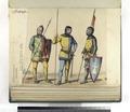 Edad media Siglo XIV. Lanceros, de mesnadas señoriales (NYPL b14896507-87400).tiff