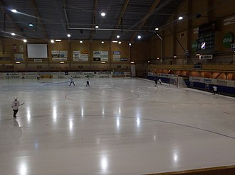 Hälsingland - Svenska Fönster Arena in Edsbyn was the first Swedish indoor bandy venue