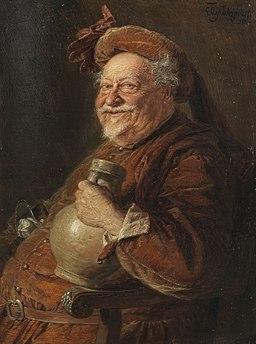 Eduard von Grützner - Falstaff (1906)
