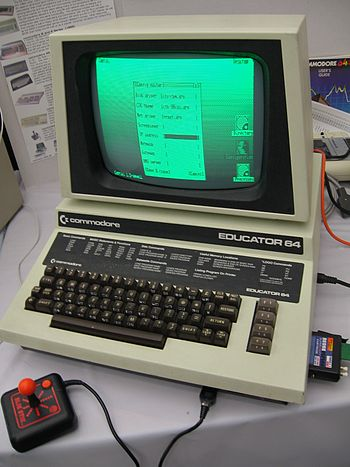 The Commodore Educator 64 also known as the PE...