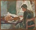 Edvard Munch - Andreas Munch Studying Anatomy - MM.M.00202 - Munch Museum.jpg