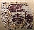 Egitto, frammento di scialle o di tappezzeria, 240-400 dc ca, lino e lana.JPG