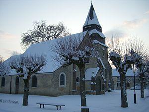 Berchères-sur-Vesgre - Image: Eglise St Rémy