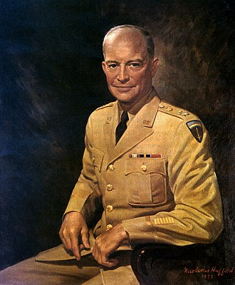 Supreme Headquarters Allied Expeditionary Force - Image: Eisenhower Chiefof Staff Portrait