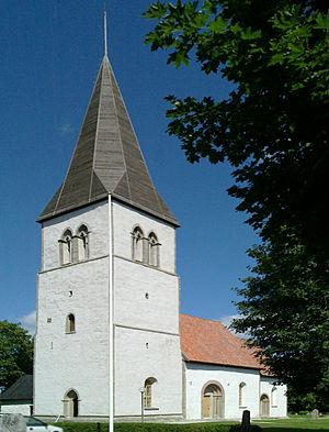 Eke Church - Image: Eke kyrka Gotland total 1