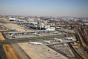 O. R. Tambo International Airport - OR Tambo terminal buildings