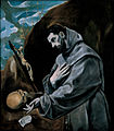 El Greco - St Francis Praying - WGA10468.jpg