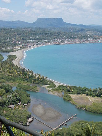 Baracoa - The Bay of Honey with El Yunque towering in the background
