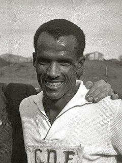 Mamo Wolde Ethiopian marathon runner