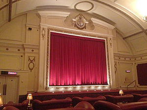 Electric Cinema, Notting Hill - Interior of the Electric Cinema Notting Hill, May 2013
