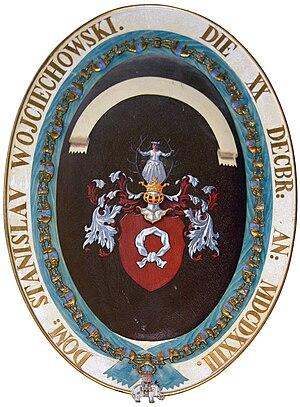 Nałęcz coat of arms - Image: Elefantorden wojciechowski
