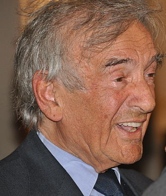 Elie Wiesel - Wiesel at a celebration for President Obama's inauguration in 2009