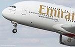 Emirates Airbus A380 A6-EDF (32554435784).jpg