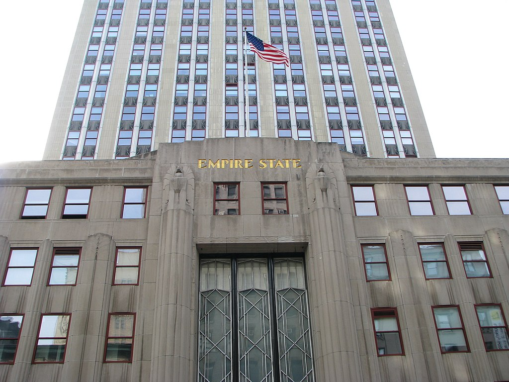 File Empire State Building Front Entrance Jpg