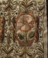 En söndersprättad harskinnsmuff som ägts av Gustav II Adolf (mönsterdetalj) - Livrustkammaren - 5212.tif