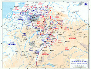 Western Allied invasion of Germany - Encirclement of the Ruhr and other Allied operations between 29 March and 4 April 1945