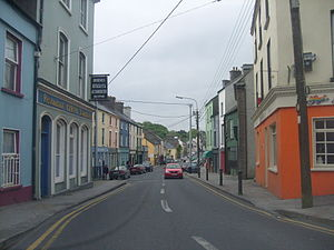 Ennistymon - A view of Ennistymon.