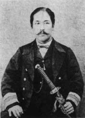 Enomoto Takeaki - Enomoto Takeaki in Ezo, aged 32 (1868-1869)