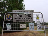Entering Howlong