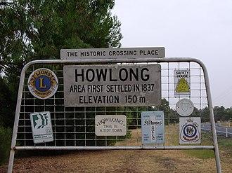 Howlong - Image: Entering Howlong