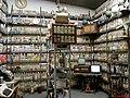 Entrada do antiquário no Engenho Santo Mario em Catanduva-SP, com destaque para a coleção de garrafas de cachaça e latinhas de cerveja. O Museu da Cachaça, anexo ao Engenho, com mais de 5000 garrafas - panoramio.jpg