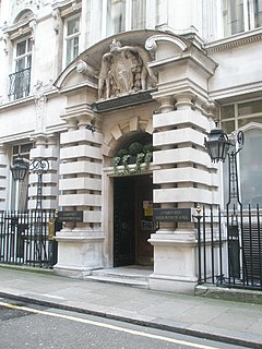 Chartered Accountants Hall building in London, England