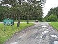 Entrance to Penybedd forest, Pembrey - geograph.org.uk - 176599.jpg
