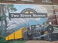 Entrance to Two Rivers Museum in Ashdown, AR IMG 8572.JPG