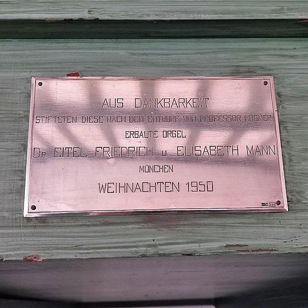 Datei:Erding, Christuskirche (Steinmeyer-Orgel) (18).jpg