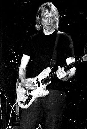 Eric Erlandson - Erlandson performing in 2012, Brooklyn, New York.