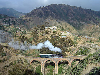 Massawa - Train between Asmara and Massawa