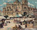 Ernest Lawson - Market Square, Segovia, Spain.jpg