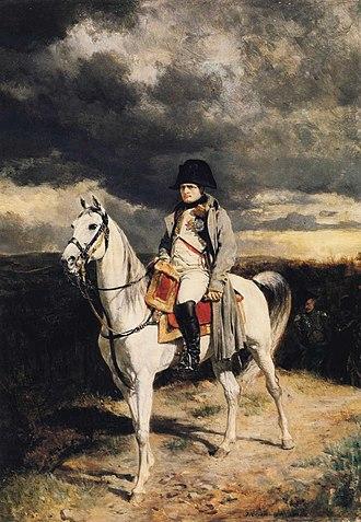 Ernest Meissonier - Napoleon I in 1814 (1862) (Walters Art Museum)