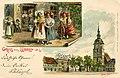 Erwin Spindler Ansichtskarte Lübben m. Sign..jpg