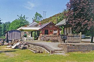 Erwood railway station former railway station