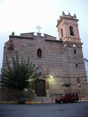Tàrbena - The church of St Barbara