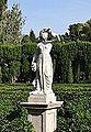 Estàtua que representa a Àfrica, jardí de Montfort de València.JPG