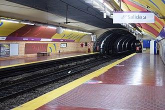 Belgrano (Buenos Aires Underground) - Image: Estación Belgrano (3)