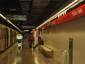 Image illustrative de l'article Trinitat Vella (métro de Barcelone)