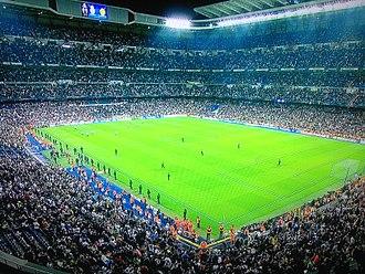 Polaco (slur) - Real Madrid home game