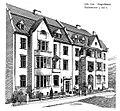 Etagenhäuser Paulusstraße 5 und 7 in Düsseldorf, entworfen vor 1904 von dem Düsseldorfer Architekten Thilo Schneider.jpg